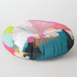 pink sky Floor Pillow