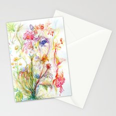 Floral Spree Stationery Cards