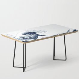 The Great Wave - Halftone Coffee Table