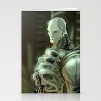 prometheus Stationery Cards featuring Prometheus by Kaan Demircelik