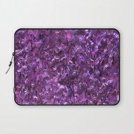 Abalone Shell | Paua Shell | Magenta Tint Laptop Sleeve
