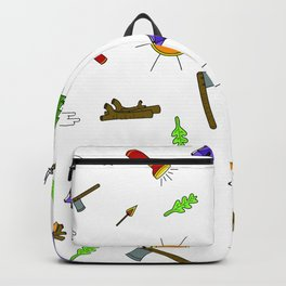 Lake Life_Color Backpack