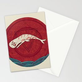 The Devil Roams These Waters Stationery Cards