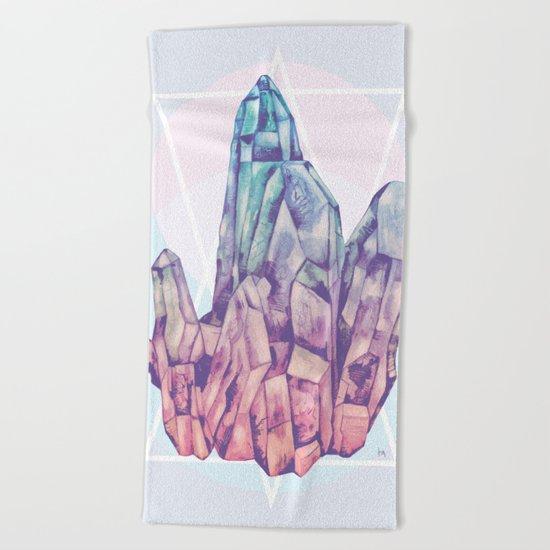 Crystalline Beach Towel