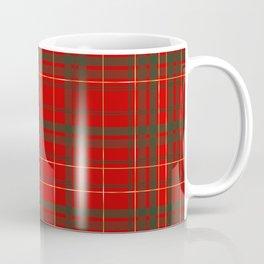Christmas Tartan Coffee Mug