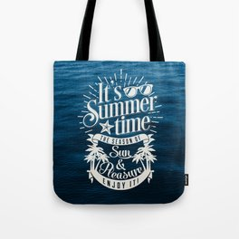 It's Summer Time Tote Bag