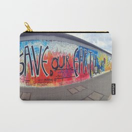Save Our Earth Berlin Wall Carry-All Pouch