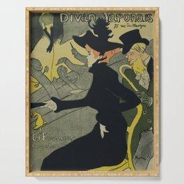 Henri De Toulouse Lautrec - Divan Japonais Serving Tray