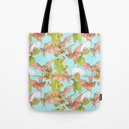 Agave Bats Tote Bag