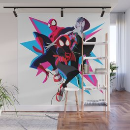 Spider-Man: Into The Spider-Verse Minimalist Wall Mural