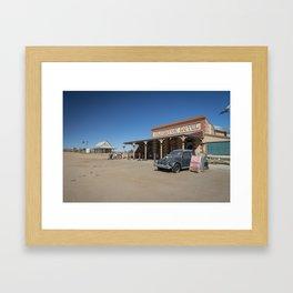 Silverton Hotel Framed Art Print