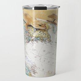 Globe-Trotting Gecko Travel Mug