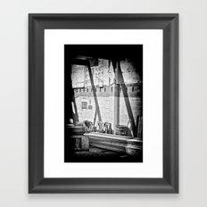 Beams Framed Art Print