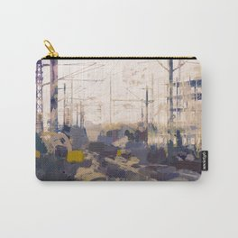 Railway into the harbour Carry-All Pouch