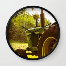 Hard Working Deere (Tractor)  Wall Clock