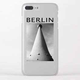 TV Tower Berlin Clear iPhone Case