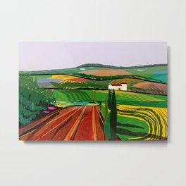 Farm Fields No. 8 Metal Print