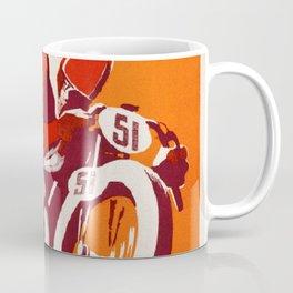 Motorcycle Club de France - Vintage Poster Coffee Mug
