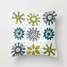 Spiro Petals Throw Pillow
