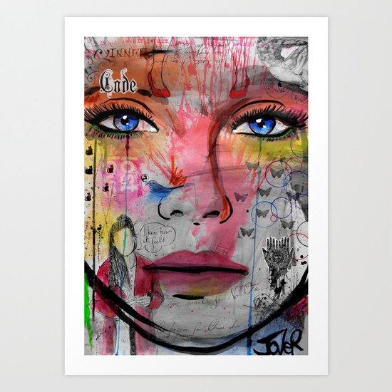 inner code Art Print