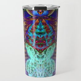 Psychedelic Spider Travel Mug