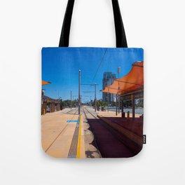 Broadbeach Light Rail Station Tote Bag