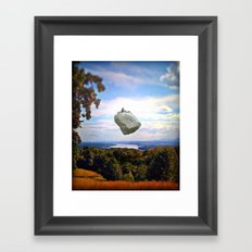 Mountain House Framed Art Print