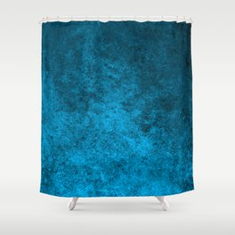 Abstract blue pattern Shower Curtain