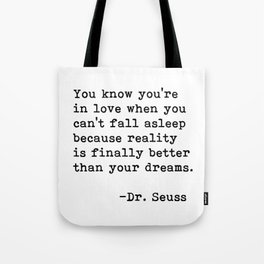 Dr. Seuss Quote 09 Tote Bag
