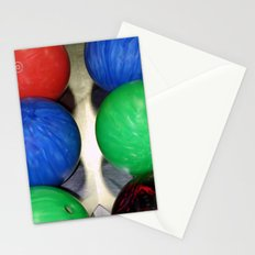 Bowling Balls Stationery Cards