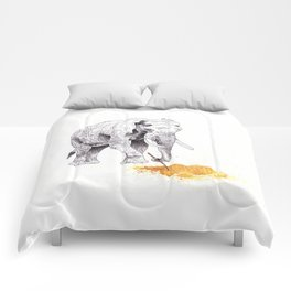 Dream Big, Elefante. Dream Big Comforters