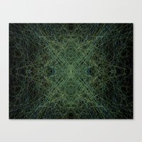 trippy Canvas Prints featuring Trippy by writingoverashes