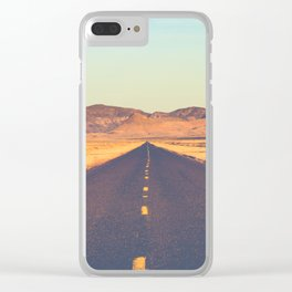 Lost Highway II Clear iPhone Case