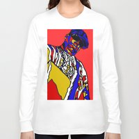 biggie Long Sleeve T-shirts featuring BIGGIE by Fake Wealth