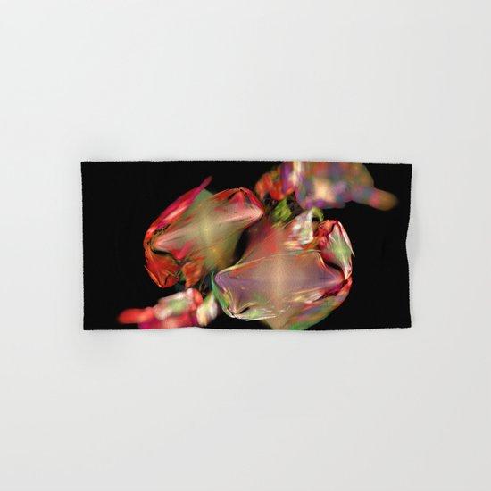 Flower Work  (A7 B0236) Hand & Bath Towel