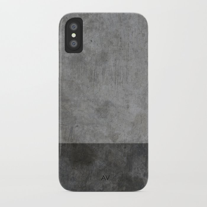 concrete texture iphone case