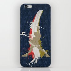 Victory At School (Homage to Sakura of Street Fighter) iPhone & iPod Skin