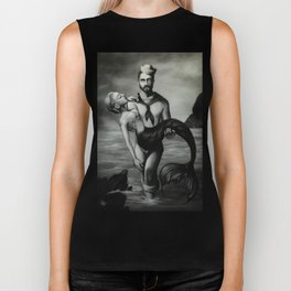 The Sailor and the Mermaid Biker Tank