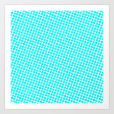 BLUE DOT Art Print