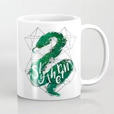 Slytherin Silver Splatter Mug