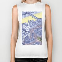 florence Biker Tanks featuring Florence by Dylan Davis