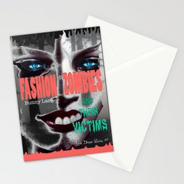Fashion Zombies and Their Victims Stationery Cards