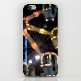 Seaside Boardwalk Lights iPhone Skin