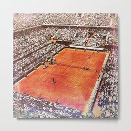 Roland Garros Tennis Metal Print
