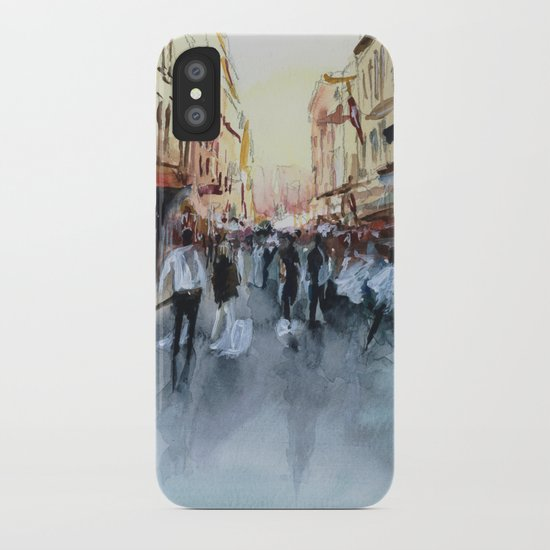 PARIS Street - Painting iPhone Case