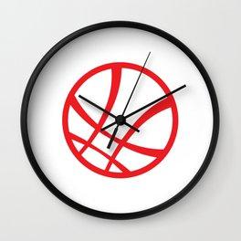 Sanctum Sanctorum (Red) Wall Clock