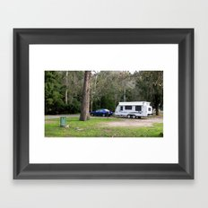 My home away from Home Framed Art Print
