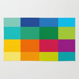 Artist Color Palette Rug