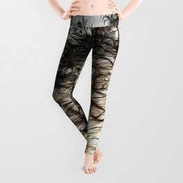Greenwich Park London Art Leggings