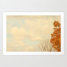 October Day's Art Print